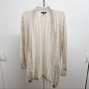 American Eagle Open Front Loose Knit Sweater